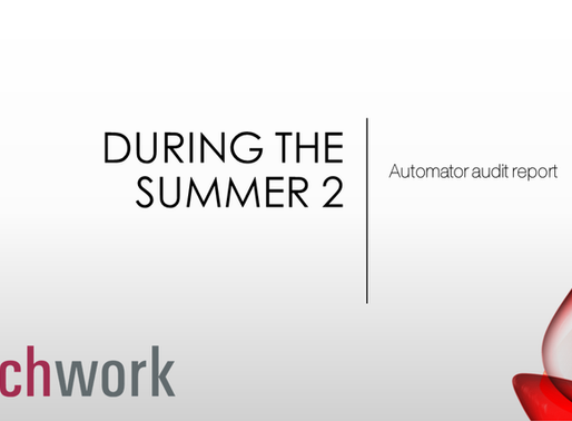 During the summer 2 – Automator audit report