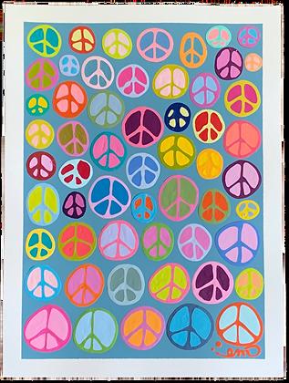 Peace Signs VI