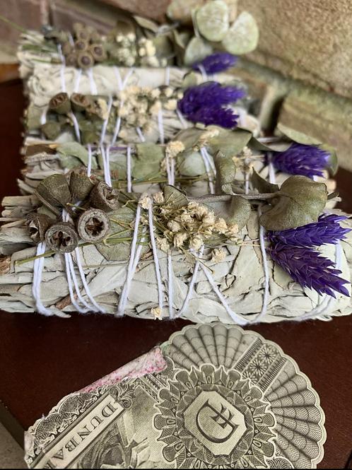 White Sage, Lavender, & Eucalyptus
