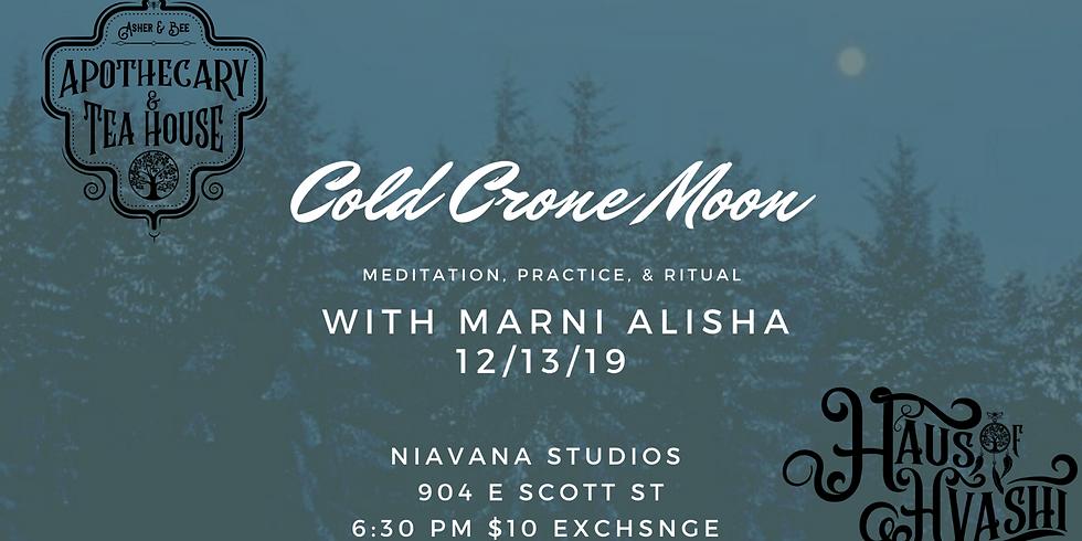 Cold Crone Moon Meditation