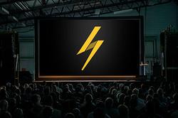 IOAN Markenentwicklung Leinwand Elektro