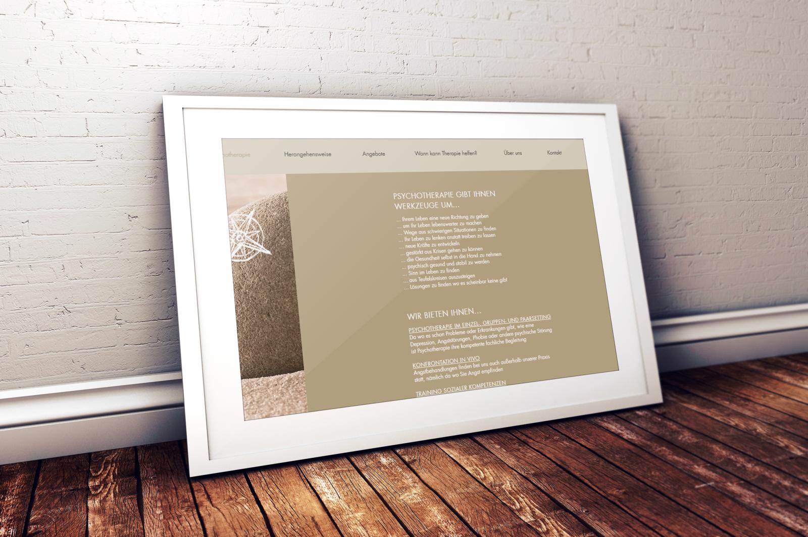 IOAN Homepage Psychotherapie Graz Poster