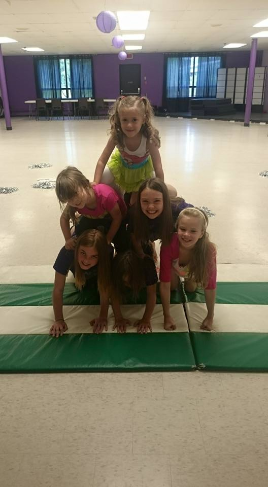 Summer Camp 2015 - Cheer Class!