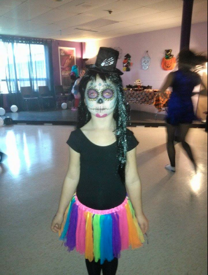 Best costume winner! - sugar skull