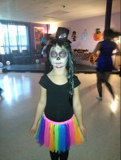 Best costume winner! - sugar skull