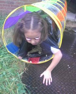 Vomit tunnel! EW!