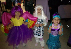 Cousins all dressed up!