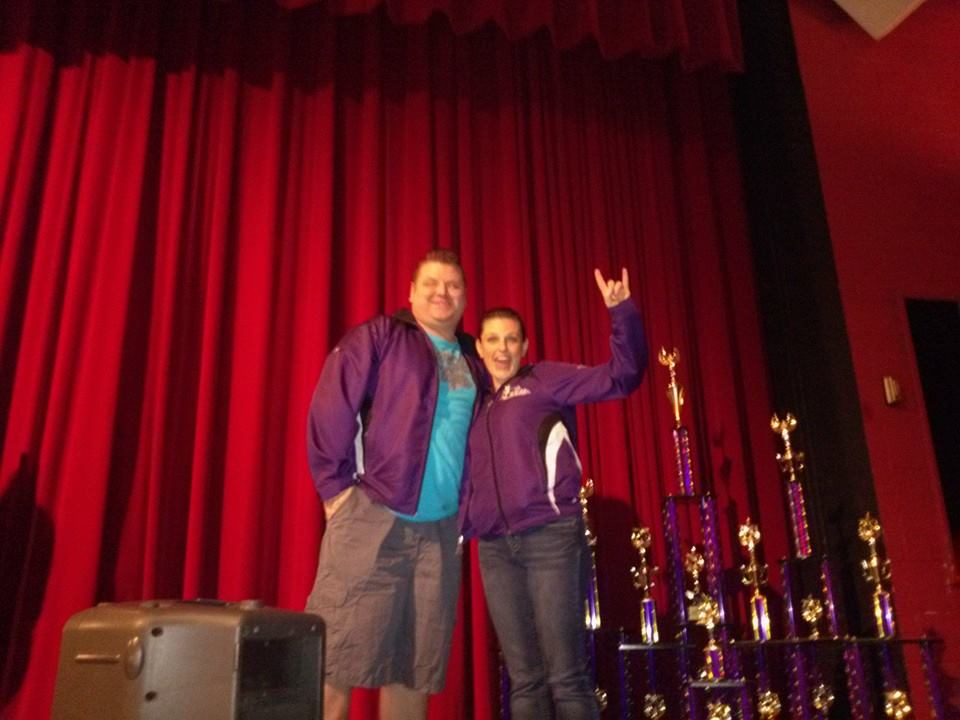 Mr.Jay & Miss Dawn Proud at Comp