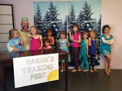 Visit from Oaken - Frozen Camp 2014