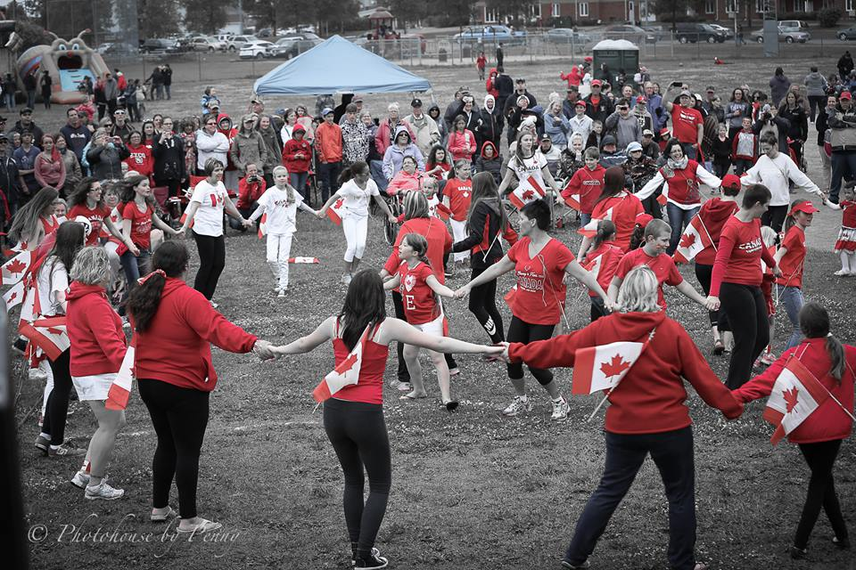 Canada Day Flash Mob