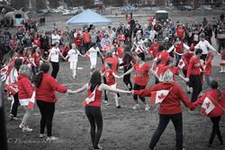 Canada Day Flash Mob