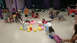 Year End Sleepover Hungry Hippos