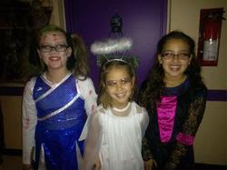 Dancers dressed up!