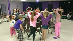 Year End Sleepover Musical Chairs