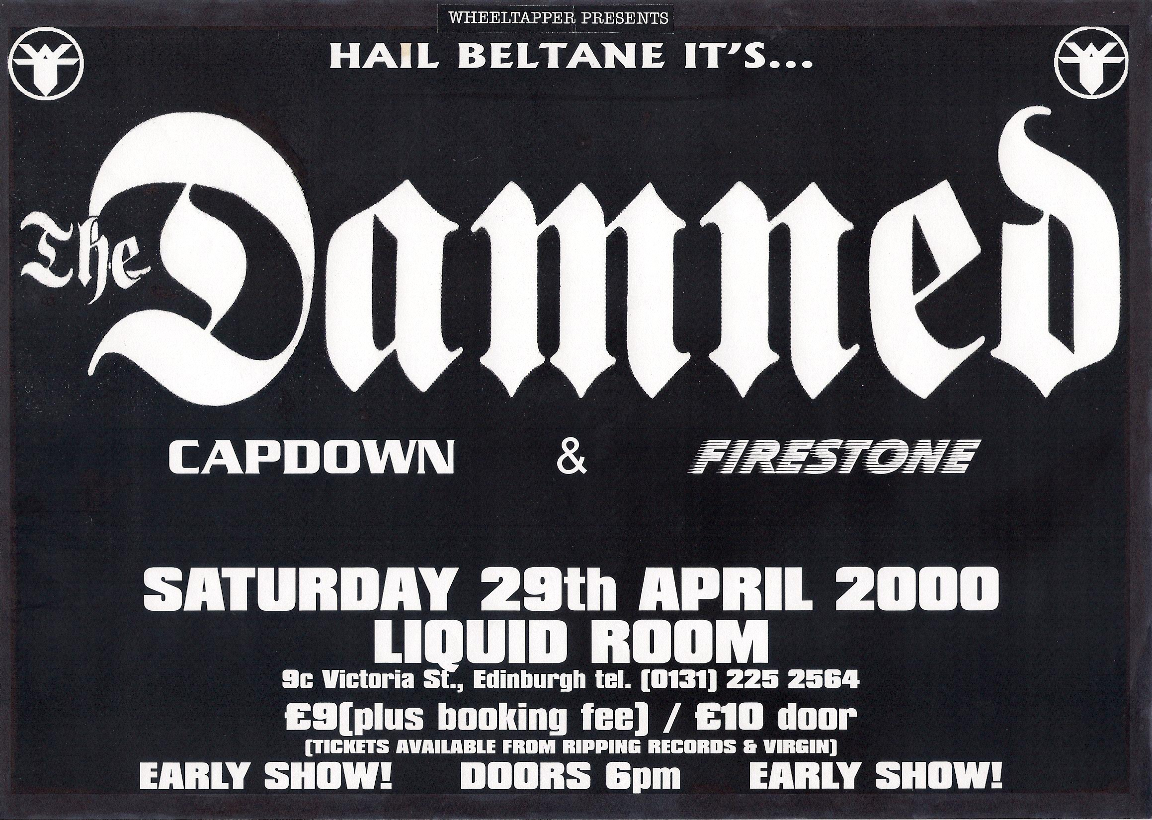 The Damned at The Liquid Room