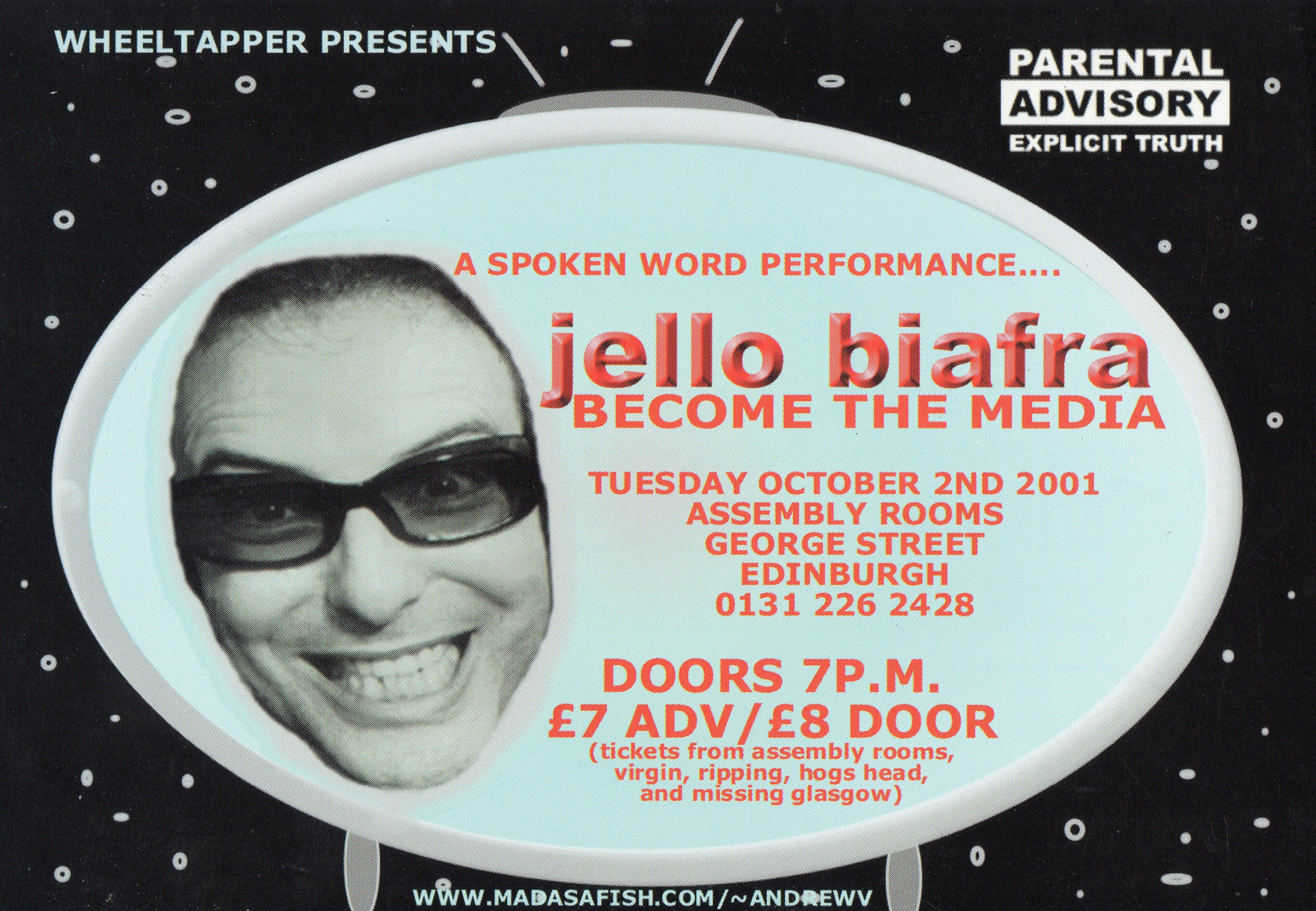 Jello Biafra - Spoken Word