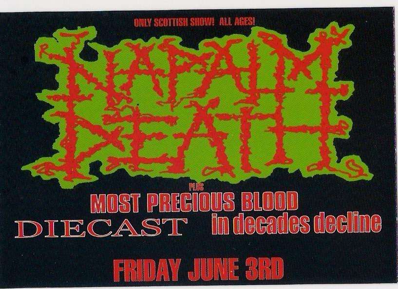 Napalm Death!!!