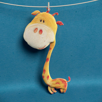 Giraffe toy model