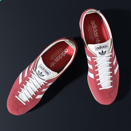 Adidas gazelle vintage shoes model