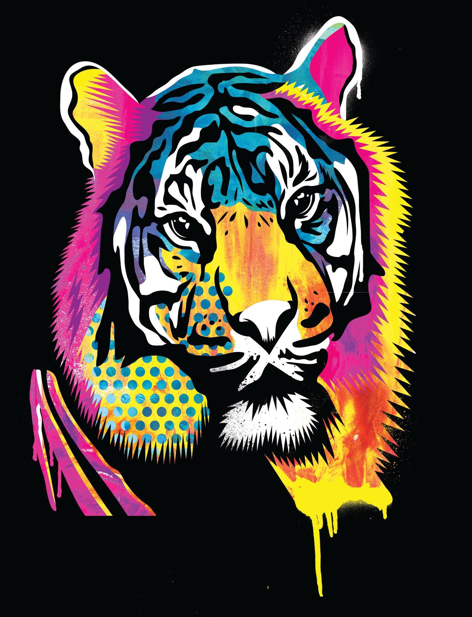 Fluro Tiger