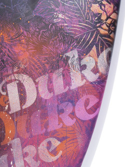 Duke Kahanamoku surfboard detail