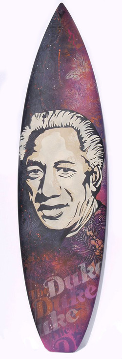 Karl Read, Duke Kahanamoku Surfboard