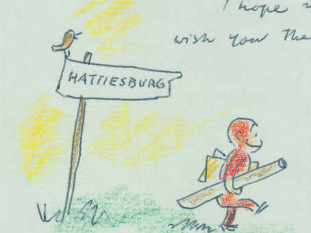 Curious George Returns Home to the de Grummond Collection