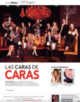 Anel Diez. Revista Caras