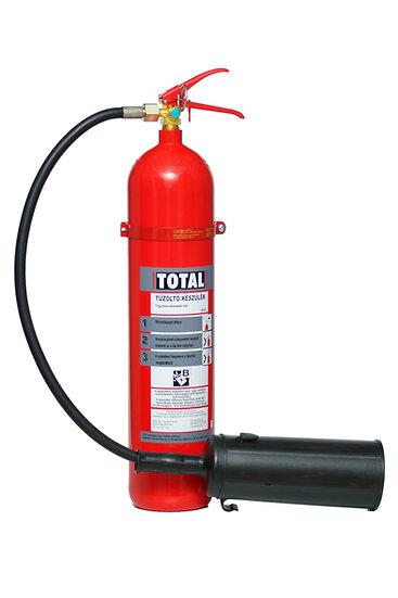 TOTAL K5SE gázzal oltó
