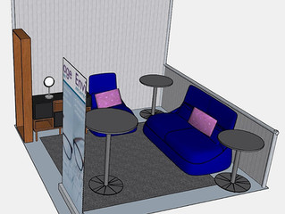 3D Renderings: EastWest Conference Booth