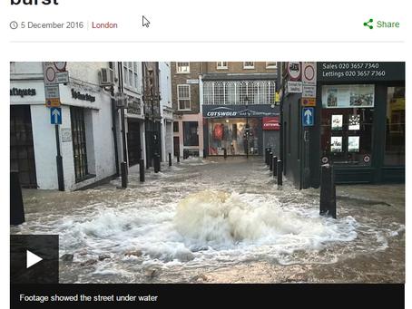 Flooding near the Angel Islington highlights need for basement information