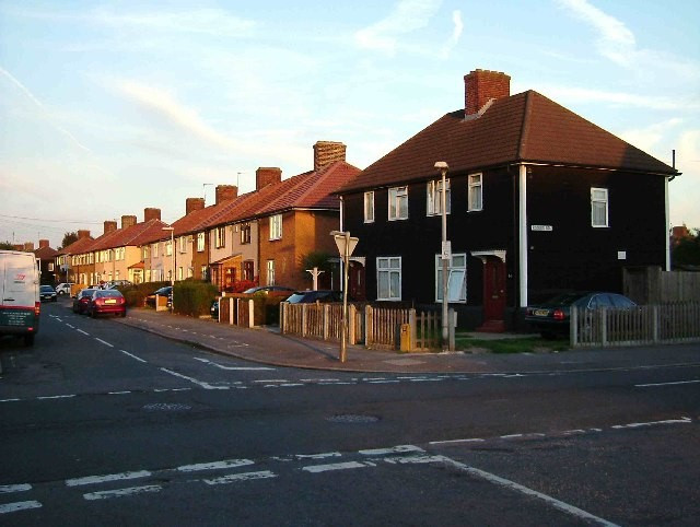 Post-war homes in Dagenham