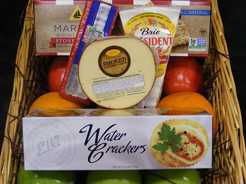 Fruits and Cheese Lovers Basket