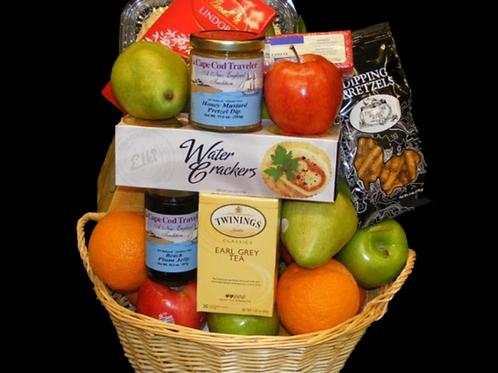 Fruit and Gourmet Food Basket