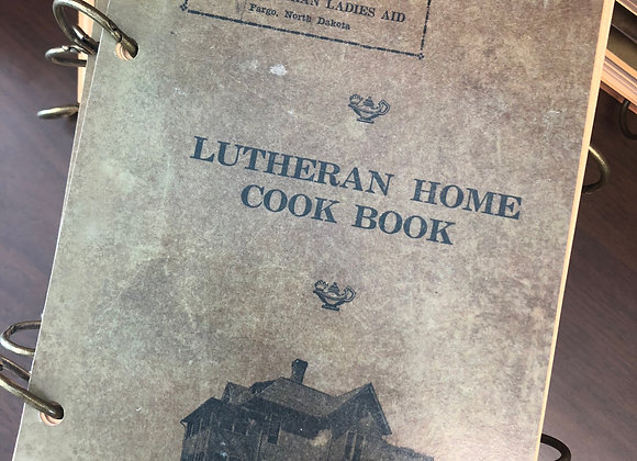 Lutheran Home Cook Book
