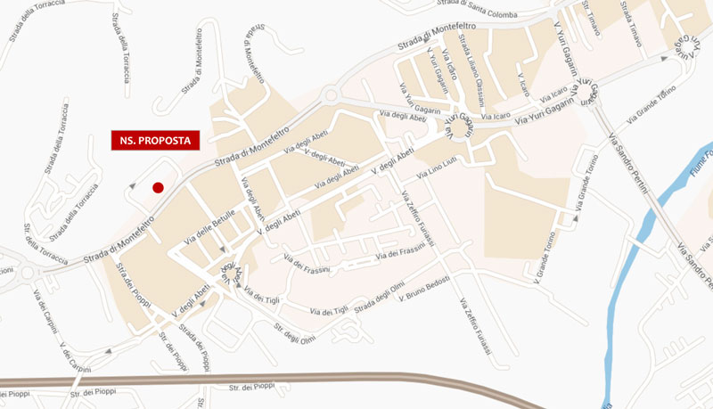 Pesaro Str. per Montefeltro