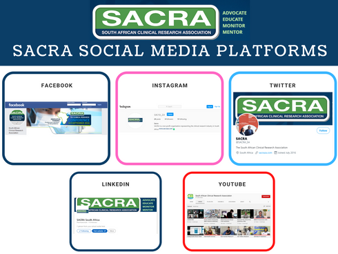 Follow Sacra's Social Media Platforms
