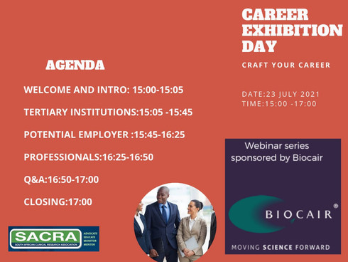 Countdown for the Career Day Exhibition