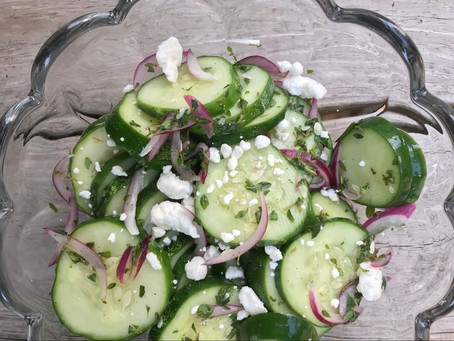 Recipe: Cucumber and Thyme Salad