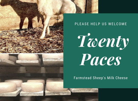"""""""The Flavor is Up to the Cheese"""": A  New Producer Profile on Twenty Paces"""