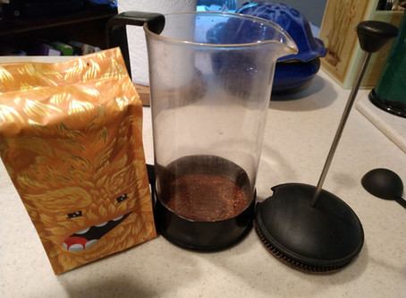 Achieving Coffee Nirvana by Brewing the Perfect Cup of Snowing in Space Coffee