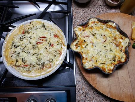 Recipe: Nell's Mom's 90th-Birthday Eggplant-Tomato Pie!