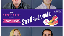 LRW are stepping up again this year to help end youth homelessness in the UK.
