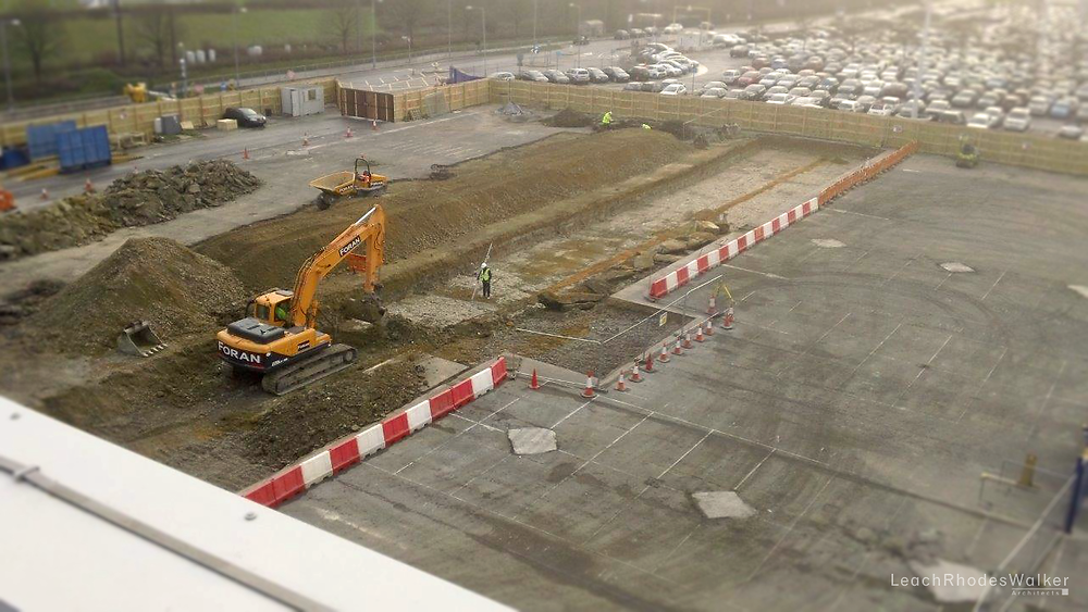 Stansted Airport London Construction