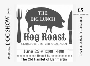 BIG LUNCH CHANGE OF DATE
