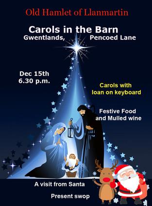 Christmas Festivities in the Barn