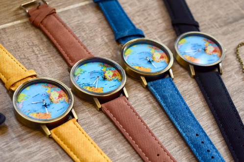 Travel watch lespoir shop home page travel watch jd 15000 travel watch with world map background gumiabroncs Gallery