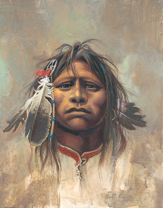 Mark Rohrig Original Painting