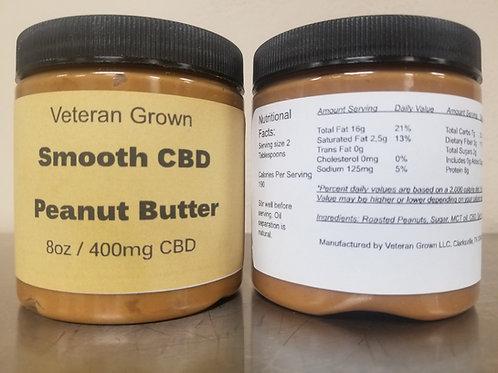 8oz CBD Peanut Butter (400mg)