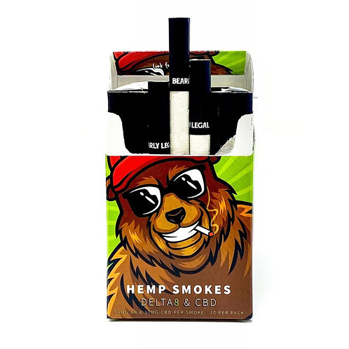 Bearly Legal Delta-8 Cigarettes 20ct